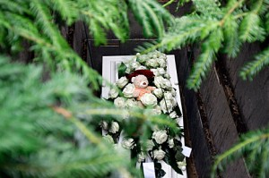 foto van graf jongere