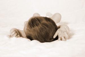 foto van overleden kindje